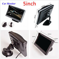 5Inch Car Monitor TFT LCD HD Screen Display For Reverse Rear View Camera DVD VCD