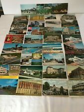 42 Post Cards of Hotels & Motels Vintage & Present 9 States & 2 Countries