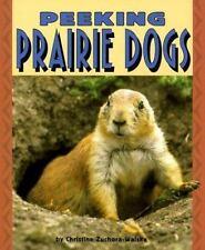 Peeking Prairie Dogs (Pull Ahead Books)-ExLibrary