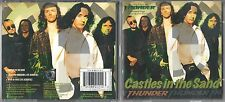 Thunder  2  CD's  CASTLES IN THE SAND    PART 1 & 2