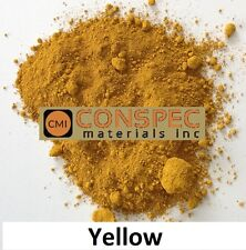 25 lbs YELLOW Concrete Curbing Color Pigment Dye Cement Molds Tile Pottery