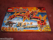LEGO LEGENDS OF CHIMA FLYING PHOENIX FIRE TEMPLE 70146 - SEE PHOTOS- NEW/SEALED