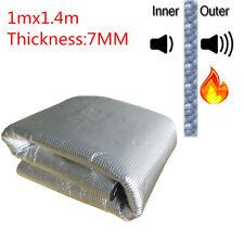 1*1.4m Firewall Sound Deadener Car Heat Shield Insulation Deadening Material Mat