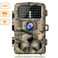 Campark Wildlife Trail Camera 14MP 1080P Waterproof Hunting Cam IR Night Vision