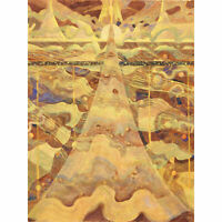 Ciurlionis Sonata Stars Abstract Painting XL Canvas Art Print