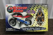 MASKED RIDER SUPER GOLD & CHOPPER SET Motorcycle Collectible Bandai Saban NEW