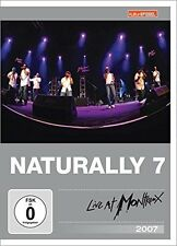 Naturally 7 - Live At Montreux 2007 ( DVD ) u.a  Fly Baby, Can Ya Feel It? NEU