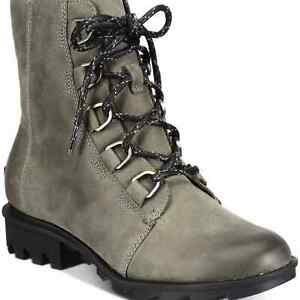 SOREL Phoenix Waterproof Leather Lace-Up Boots Womens NEW With Box MSRP-$189