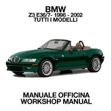 BMW Z3 E36/7 1996 2002. Service Manuale Officina Riparazione Workshop Manual ENG