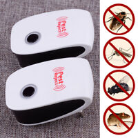 Ultrasonic Pest Reject Electronic Repeller Anti Mosquito Mouse Cockroach Killer