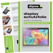 2x dipos Samsung Galaxy Tab S 10.5 matt Displayschutzfolie Antireflex Testsieger