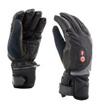 Winter Waterproof Cold Weather Heated Cycling Gloves in black Sealskinz