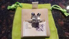 Authentic Chamilia Silver Gift Box Christmas Charm