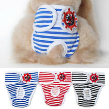 Dog Diaper Reusable Washable Durable Absorbent Cloth Doggie Diapers Pants