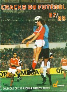 Portuguese Futebol League 1987-1988 Complete Album Panini -in PDF- Soccer
