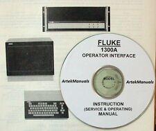 FLUKE 1300A Operator Interface  Instruction  Manual (Operating+Service+ Schemat)