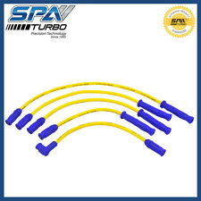 SPA Turbo 10.4mm Golf MKII MKI VW 8V spark plug wire set YELLOW/BLUE #CIGCBIMS08