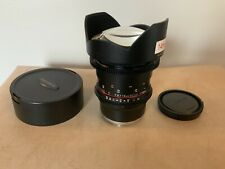 SamYang Rokinon 14mm T3.1 ED AS IF UMC II Lens for Sony E-mount
