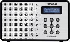 TechniSat TechniRadio 2 DAB+ Kofferradio DAB+, UKW  Schwarz, Silber