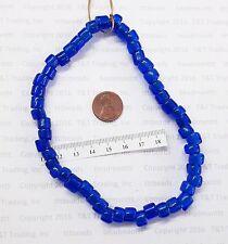 Antique Vintage Venetian Medium Blue  Crow Trade Beads   Rendezvous