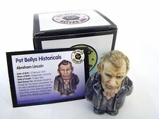 Harmony Kingdom Pot Bellys Historicals Abraham Lincoln - Item Pbhal New Retired