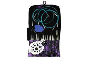 """Hiya STEEL PREMIUM Interchangeable knitting needle set, small 5 """""""