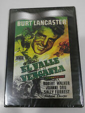 THE VALLEY OF THE VENGANZA DVD SLIM BURT LANCASTER SPANISH NEW NEW