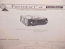 1978 GM BUICK RIVIERA PONTIAC FIREBIRD FORMULA TRANS AM-FM RADIO SERVICE MANUAL