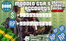 Modded Account! Gta 5 Modded Money! Up to 1 Billion! [UNDETECTED] [PC only]