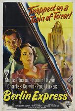 Berlin Express DVD Merle Oberon Robert Ryan