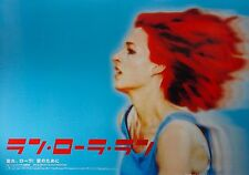 Run Lola Run 1998 Lola rennt Action Mini movie Poster Chirashi Japan Japanese
