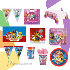 Paw Patrol Birthday Party Set Partyware Tableware Decoration Plates Balloons