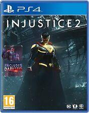 INJUSTICE 2 PS4 Game (BRAND NEW SEALED) BONUS DLC