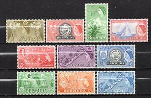Bermuda QE II era mint no gum collection,stamps as per scan(10326)