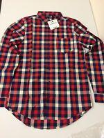 Boohoo Long Sleeve Check Shirt Size M Uk Box E 83