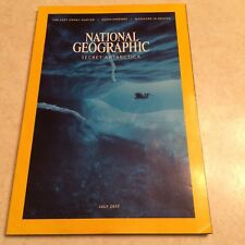 National Geographic July 2017 edition preowned