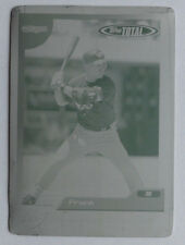 1/1 Frank Menechino 2005 Topps Total Printing Plate 252 Toronto Blue Jays 1 of 1