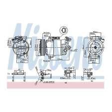Fits Renault Clio MK3 2.0 16V Genuine OE Quality Nissens A/C Air Con Compressor