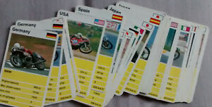 vintage     TOP TRUMPS     Motorcycles   100 cards approx   Waddingtons