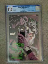 Batman The Killing Joke 1st printing CGC 7.5 White Pages