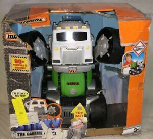 Matchbox Interactive Buddy Stinky Garbage Truck 90 Different Phrases & Sound 3+
