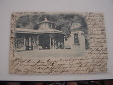 AK Ansichtskarte Cannstatt ( Wilhelmabrunnen) 1899 gelaufen nach Esslingen