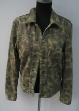 Vintage Duck Hunter camouflage Herringbone Jacket Size Small 38""