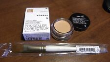 Korres Quercetin & Oak Concealer Tan 4 with Heal & Conceal Brush NEW