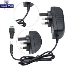 for LED light CCTV Camera UK Plug 12V 2A AC to DC Adapter Charger Power Supply