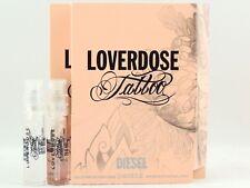 DIESEL LOVERDOSE TATTOO EDP 1.5ml .05oz x 2 PERFUME SPRAY SAMPLE VIAL LOT