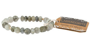 Scout Curated Wears LABRADORITE STONE Stacking Bracelet MAGIC Jewelry SS012