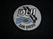 Dui-Scuba San Diego Patch 1980's