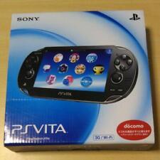 PS VITA 3G/Wi-Fi Crystal Black First Limited Model Operacion Confirmed