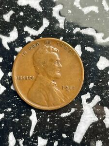 1911-D U.S. Wheat Cent Lincoln Penny Lot#U351